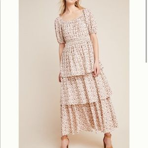 Gal Meets Glam Luciana Tiered Maxi Dress